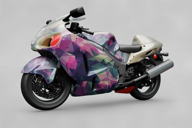 Maquette de moto
