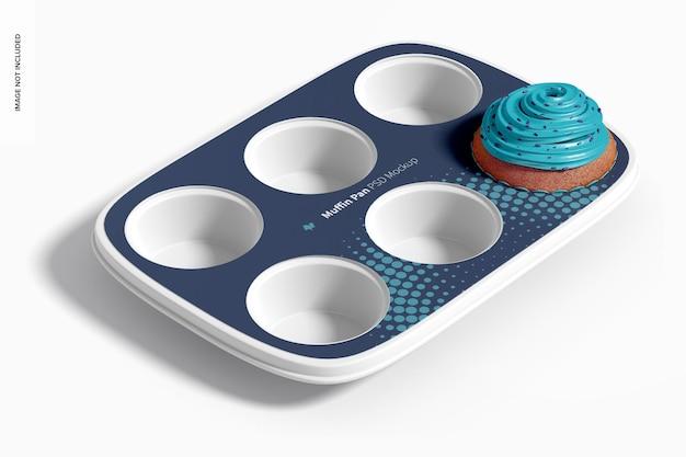 Maquette de moule à muffins