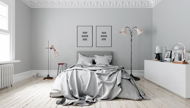 Maquette de mur intérieur