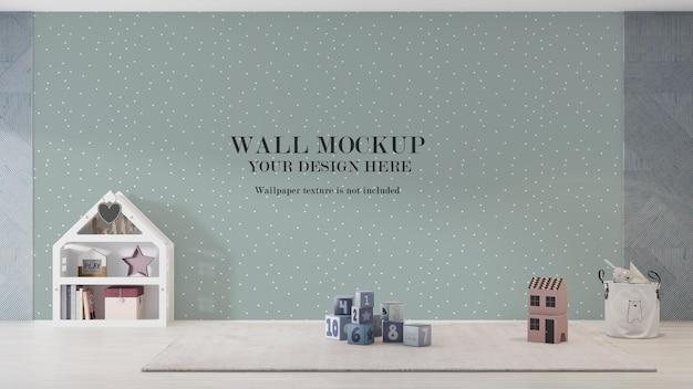 Maquette de mur de maternelle