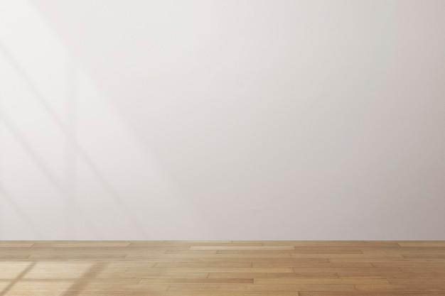 Maquette de mur de salle vide psd design d'intérieur minimal