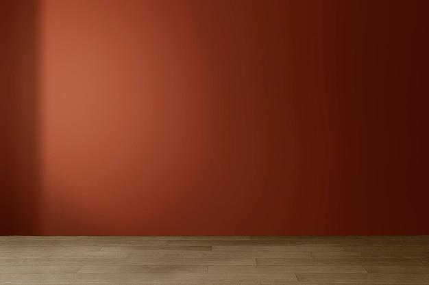 Maquette de mur de salle vide psd design d'intérieur moderne