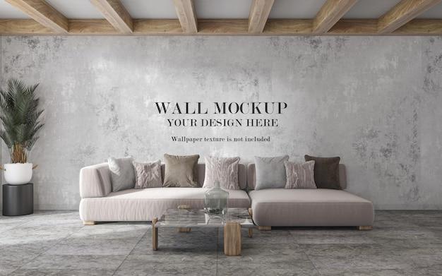 Maquette de mur de salon pour vos idées de conception