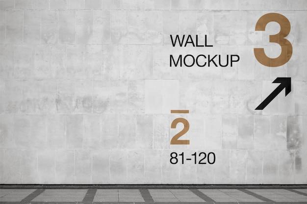 Maquette de mur