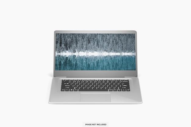 Maquette d'ordinateur portable moderne et réaliste