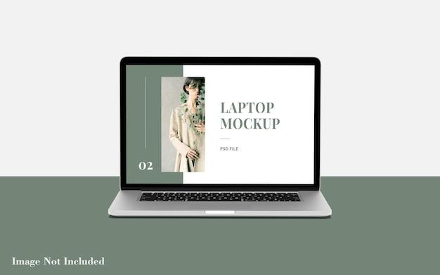 Maquette d'ordinateur portable premium psd