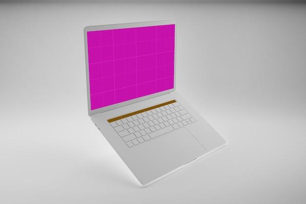 Maquette d'ordinateur portable propre