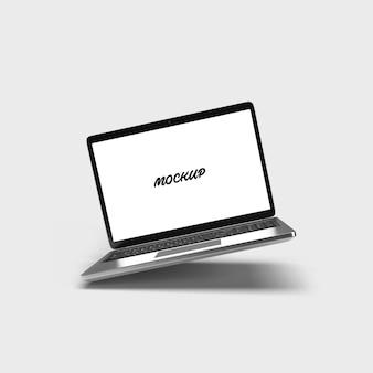 Maquette d'ordinateur portable