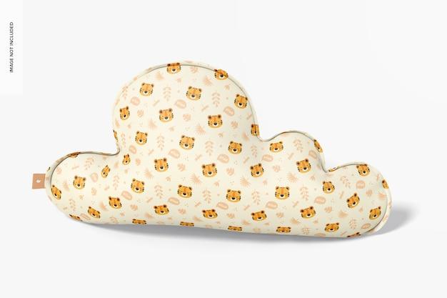 Maquette d'oreiller en nuage