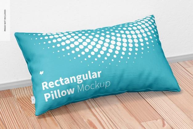 Maquette d'oreiller rectangulaire