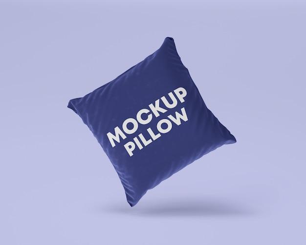 Maquette d'oreiller volant fond propre