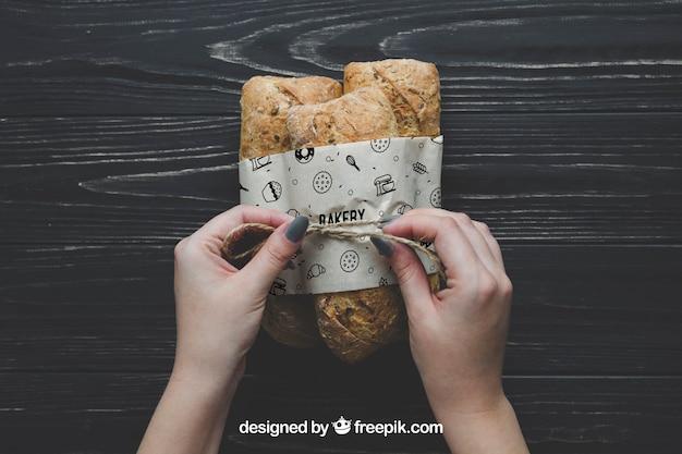 Maquette de pain
