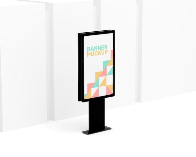 Maquette de panneau d'affichage simple