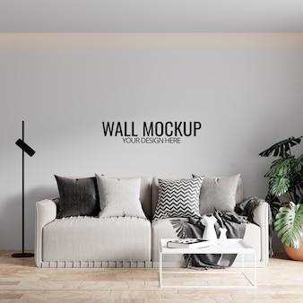 Maquette de papier peint intérieur