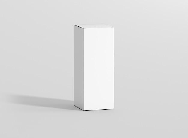 Maquette de paquet de boîte