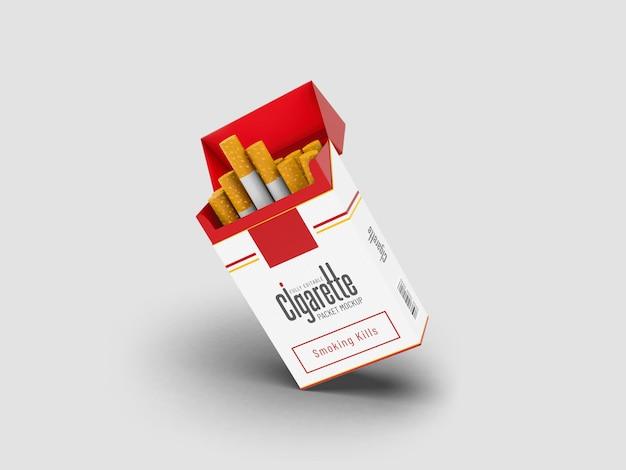 Maquette de paquet de cigarettes