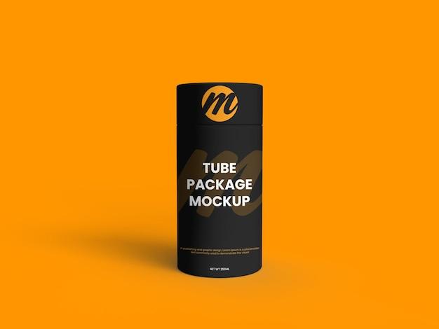 Maquette de paquet de tube