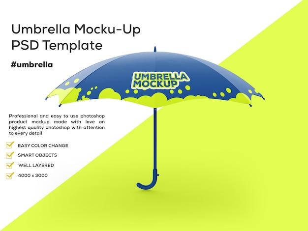 Maquette de parapluie mat