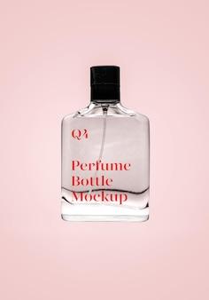 Maquette de parfum transparent