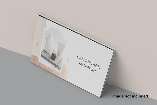 Maquette de paysage magazine a5