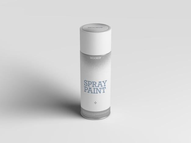 Maquette de peinture en aérosol