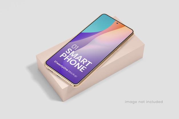 Maquette de périphérique de smartphone android