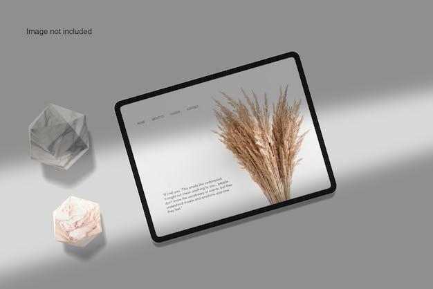 Maquette de périphérique de tablette