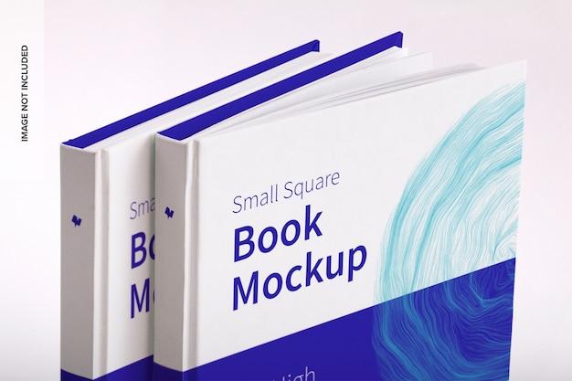 Maquette de petit livre carré à couverture rigide