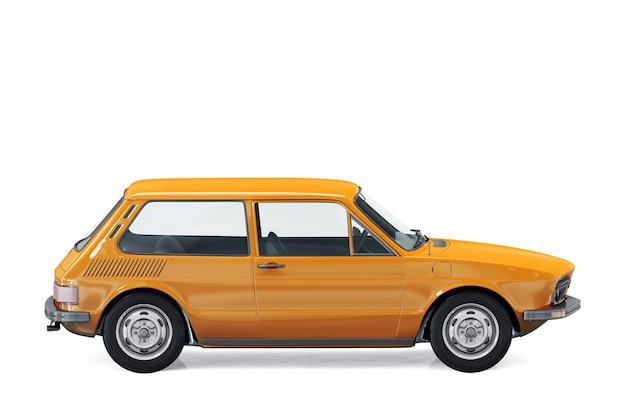 Maquette de petite voiture de ville 1980