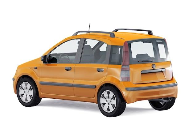 Maquette de petite voiture de ville 2011