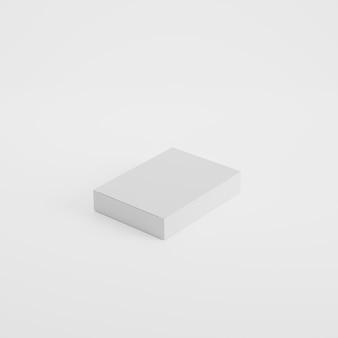 Maquette de photo de produit d'emballage de boîte