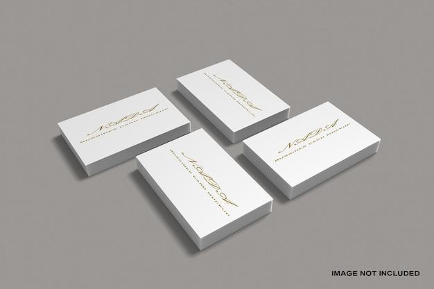 Maquette de pile de carte de visite
