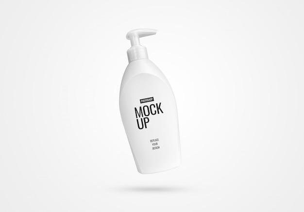 Maquette de pompe à bouteille réaliste