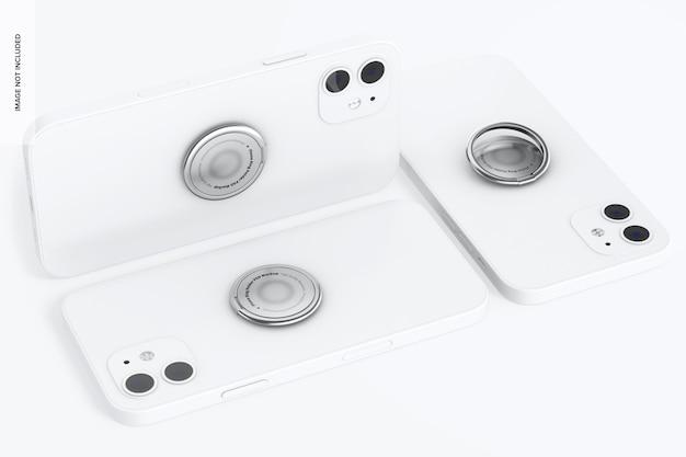 Maquette de porte-anneaux de téléphone