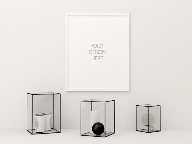 Maquette de poster minimal