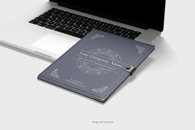 Maquette pour ordinateur portable et ordinateur portable