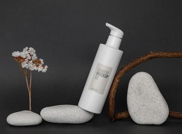 Maquette de produit cosmétique de soins de beauté