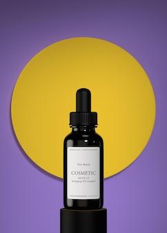 Maquette de produits cosmétiques hydratants pour soins de la peau
