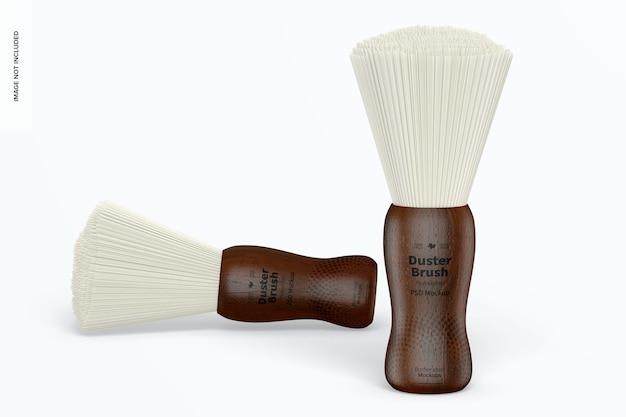 Maquette professionnelle de brosses duster