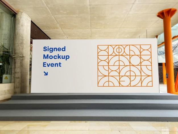 Maquette promotion d'événement