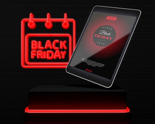 Maquette des promotions du vendredi noir