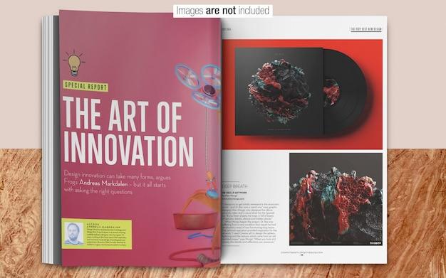 Maquette psd magazine