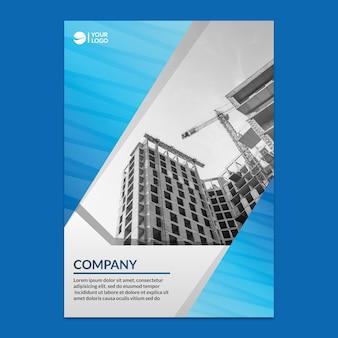 Maquette de rapport annuel d'entreprise