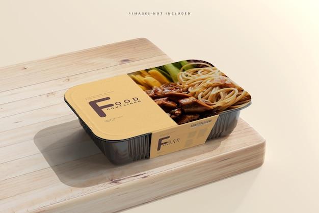 Maquette de récipient alimentaire de grande taille