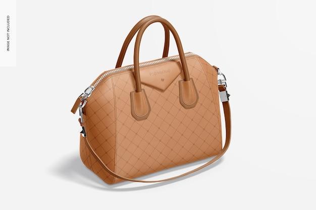 Maquette de sac en cuir pour femmes
