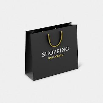 Maquette de sac en papier shopping psd