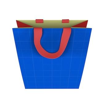 Maquette de sac en papier
