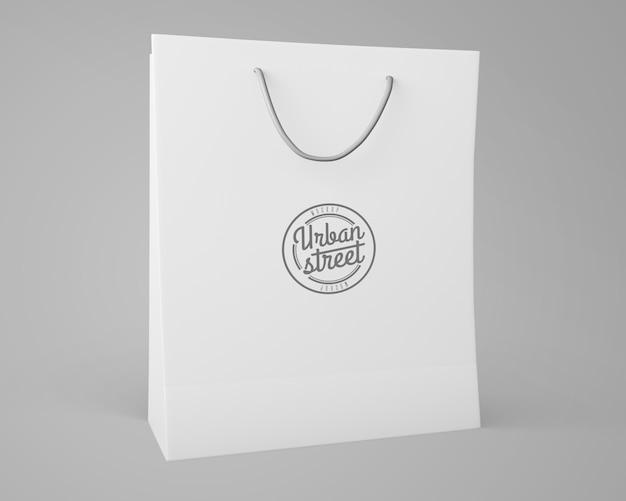 Maquette de sac pour le merchandising