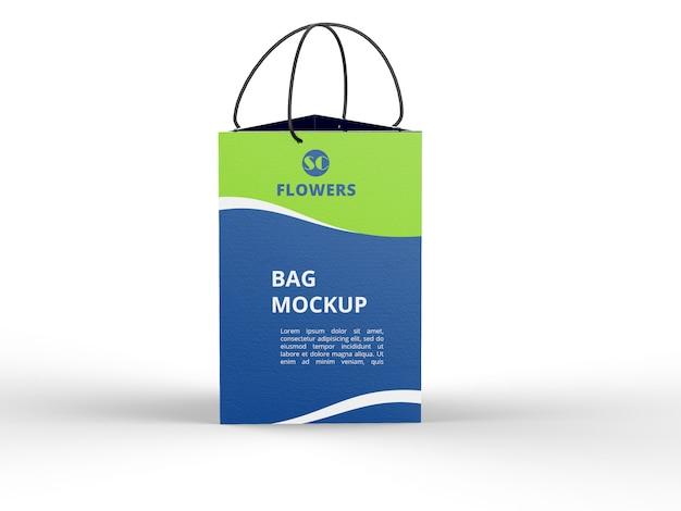 Maquette de sac à provisions mat
