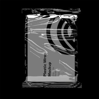 Maquette de sac transparent
